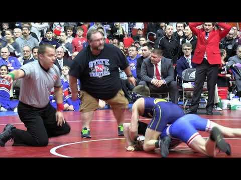 Cascade's Aidan Noonan Shocks 3-time Champion Adam Allard In Iowa State Wrestling Finals