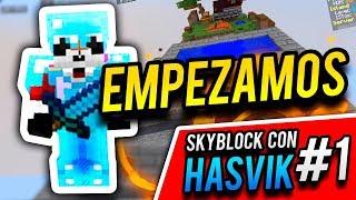 EXPLORANDING! - Skyblock con Hasvik #1