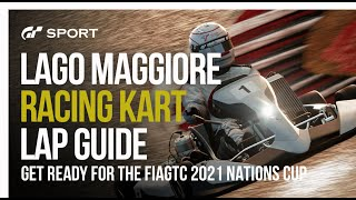 GT Sport Lap Guide: Racing Kart 125 Shifter At Lago Maggiore
