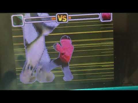 動物パーク 動物ファイターズ!前回の欠点を活かしました。〔鮫vs金魚〕