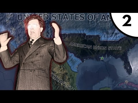 The 2nd American Civil War [Hearts Of Iron IV: Kaiserreich 0.8: American Union State] Ep. 2