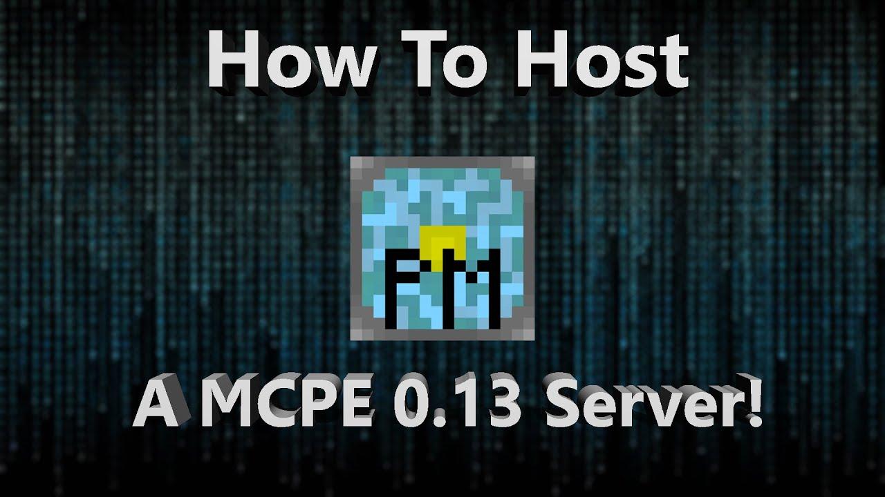 how to start a mcpe server