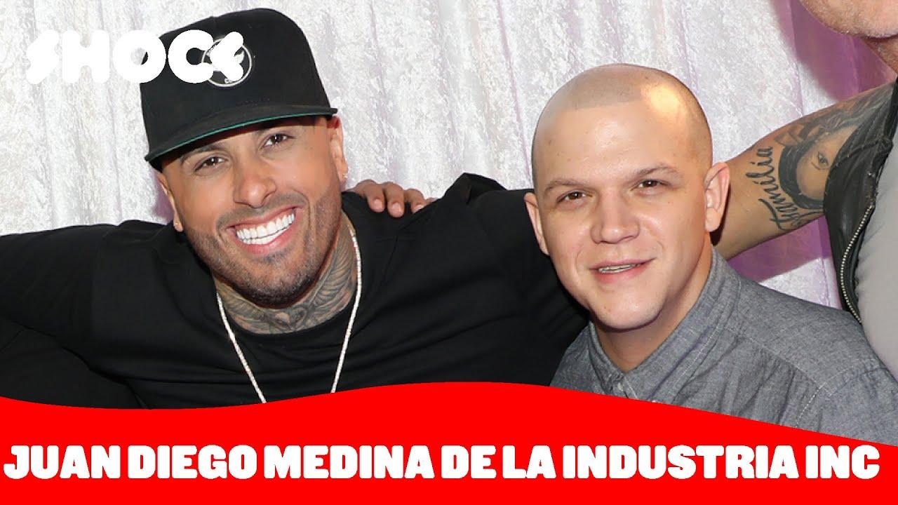 Juan Diego Medina De La Industria Inc Y Su Visión Sobre La Música Latina Shock Youtube