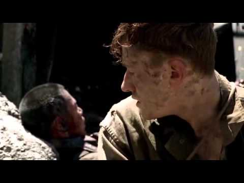 Snafu,Sledge, Visceral Scene from The Pacific.avi