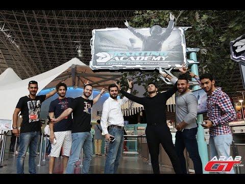 Ferrari World Abu Dhabi Karting Academy تحدي فريق عرب جي تي في