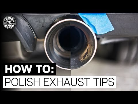 How To Make Exhaust Tips Shine! - Chemical Guys Ball Buster