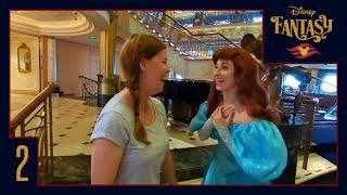 Disney Cruise Vlog 2 | Day at Sea, Midship Detective Agency and Princesses