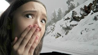 OMG! Too Much SNOW + My First Time With SNOW! FionaFrills Vlog