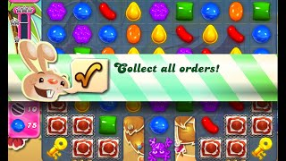 Candy Crush Saga Level 904 walkthrough (no boosters)