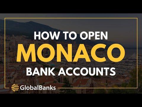 Monaco Bank Account Opening Guide