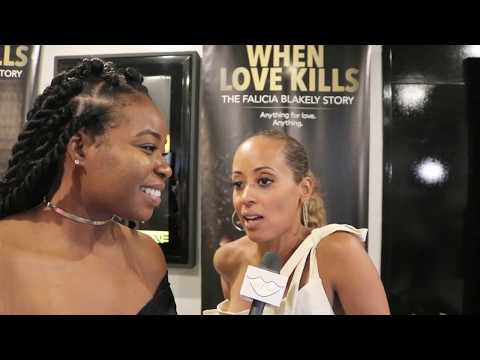Essence Atkins   When Love Kills Movie Premieres  Well Said