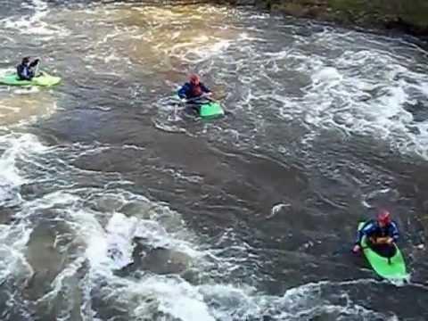 Yalding Kayaking 18 November 2012