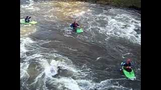 Yalding Kayaking 18 November 2012