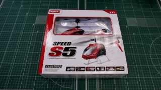 Д/У вертолет Syma S5 Speed видеообзор RC Models
