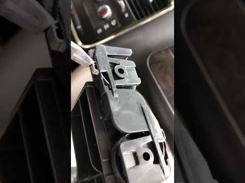 Cup Holder Removal, Dodge Caravan & Chrysler Towne & Country Later Models.  Easier Than You Think.