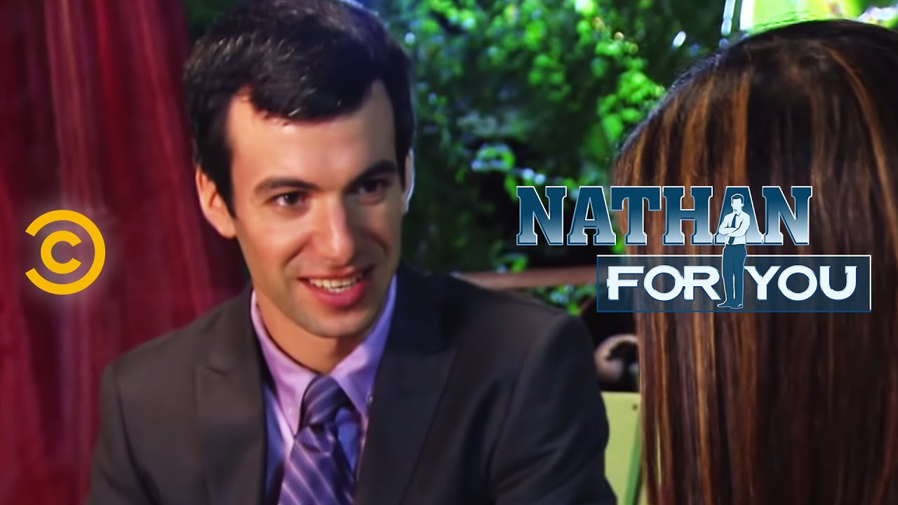 nathan for you fake dating show