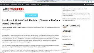 LastPass 4.18.0.0 APK Crack For Mac {Chrome + Firefox + Opera} Free Download!