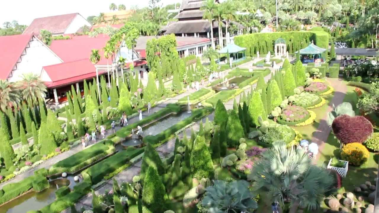 Nong Nooch Tropical Garden - Pattaya, Thailand - YouTube