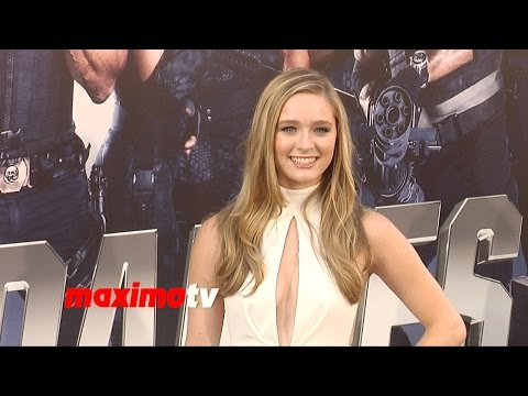 Greer Grammer  The Expendables 3  Los Angeles Premiere ARRIVALS
