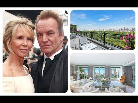 ★ Inside Sting And Trudie Styler's New York City Penthouse | HD