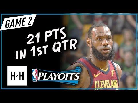 lebron-james-scores-21-pts-in-1st-qtr---game-2-|-cavaliers-vs-celtics-|-2018-nba-east-finals