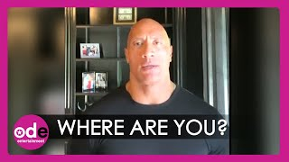 Dwayne 'The Rock' Johnson Calls Out Donald Trump: Where Are You?