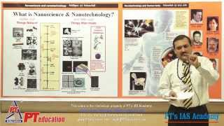 Nanotechnology in India (Full session) - PT's IAS Academy - by Sandeep Manudhane sir