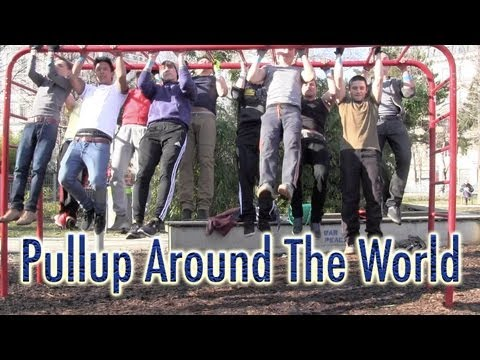 Pullup Around The World