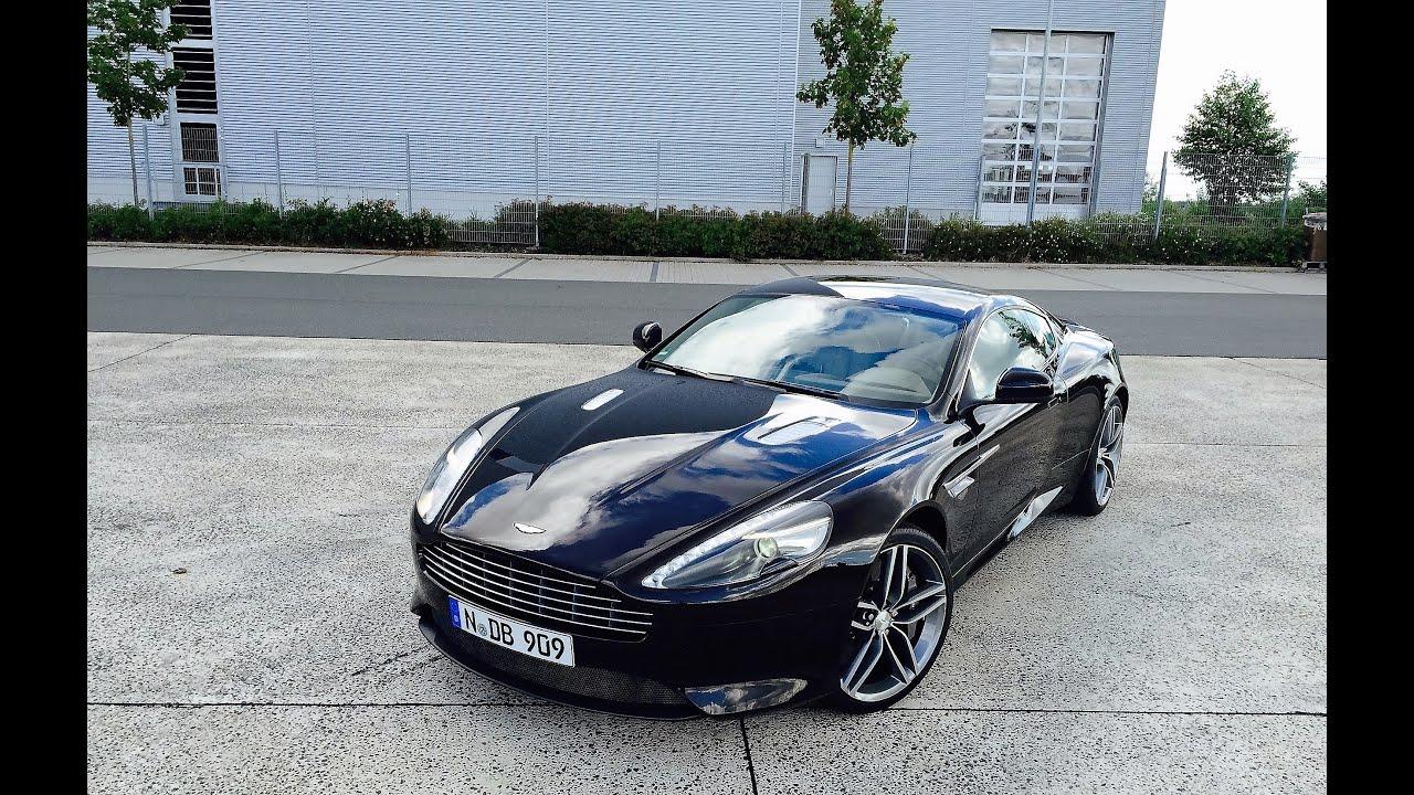 Driven Aston Martin Db9 Coupé By Auto Zitzmann Short Ride Pov Style Youtube