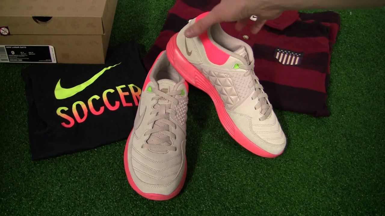 Nike NSW Lunar Gato Indoor Soccer Shoes - Grey Video Review - SoccerPro.com  - YouTube