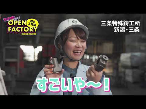 株式会社三条特殊鋳工所企業紹介動画サムネイル