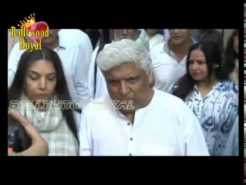 Vidya Balan, Shashi Kapoor, Johnny Lever & Others Pay Their Last Respects Before Funeral Of Om Puri