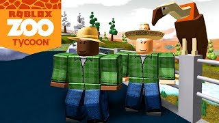 Roblox Zoo Tycoon-building My zoo, first animals! | (#1) (PT-BR)