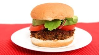 Homemade Veggie Burgers Recipe - Laura Vitale - Laura In The Kitchen Episode 619