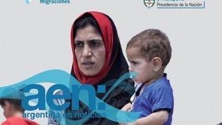Programa para refugiados sirios en Argentina  - AEN 04-09 18HS.