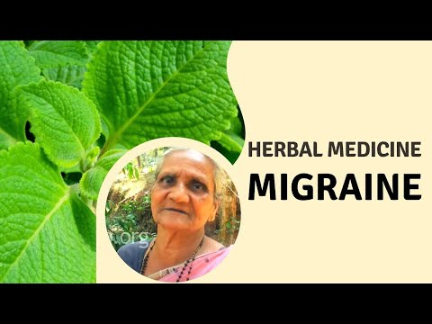 Herbal remedy for Migraine