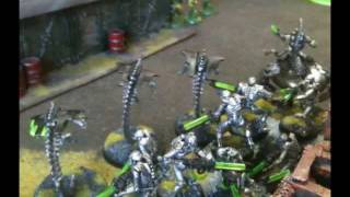 Necrons vs Space Marines 1500pt Battle Report