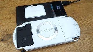 PSP 3000 Battery On PSP 1000 Mod!