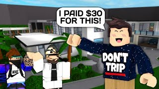 I PAID $30 FOR THIS AMAZING MANSION IN ROBLOX BLOXBURG!