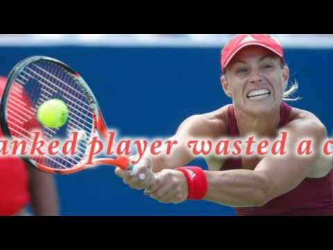Kerber wastes chance to supplant Serena Williams at No  1