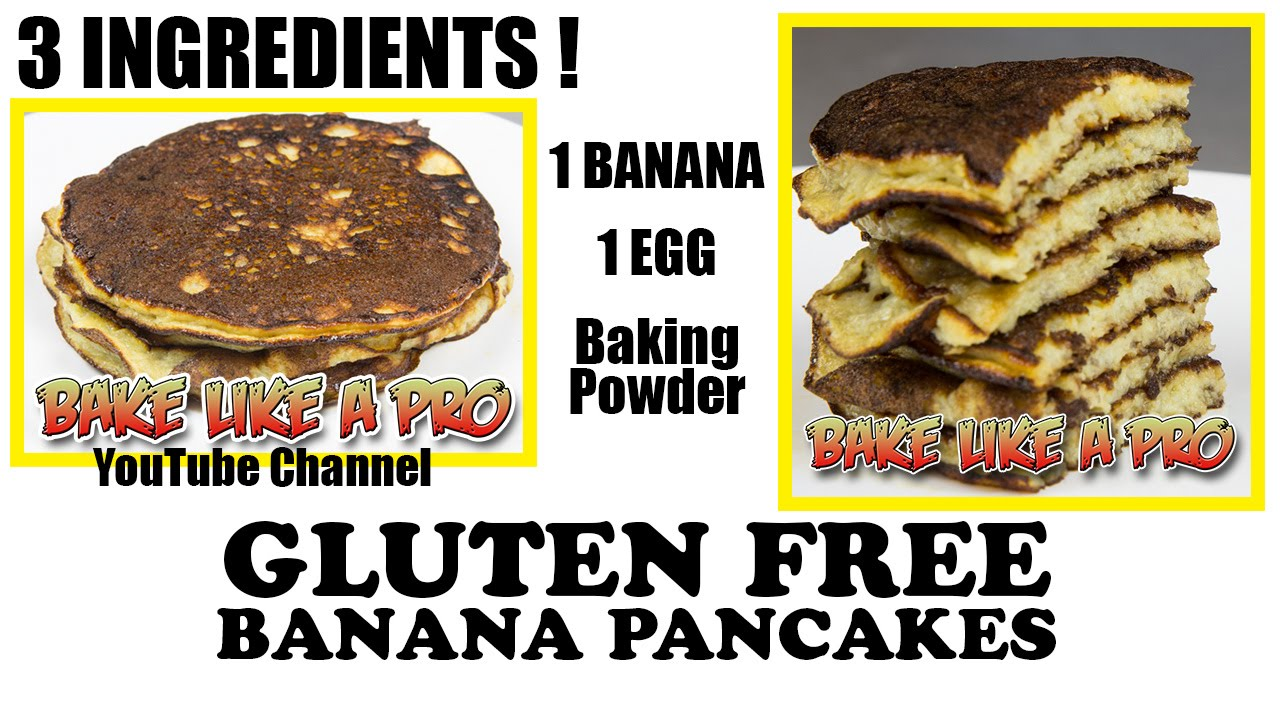 Easy 3 ingredient gluten free banana pancakes recipe youtube easy 3 ingredient gluten free banana pancakes recipe forumfinder Images