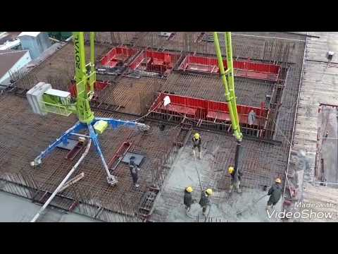 SCHWING PUMP  & ROYAL  H18+3  Concrete Placing Boom ( SPIDER)   Www.royalmac.com.tr