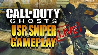 Call of Duty: Ghosts  - LIVE FFA Quickscoping Gameplay! USR Gameplay