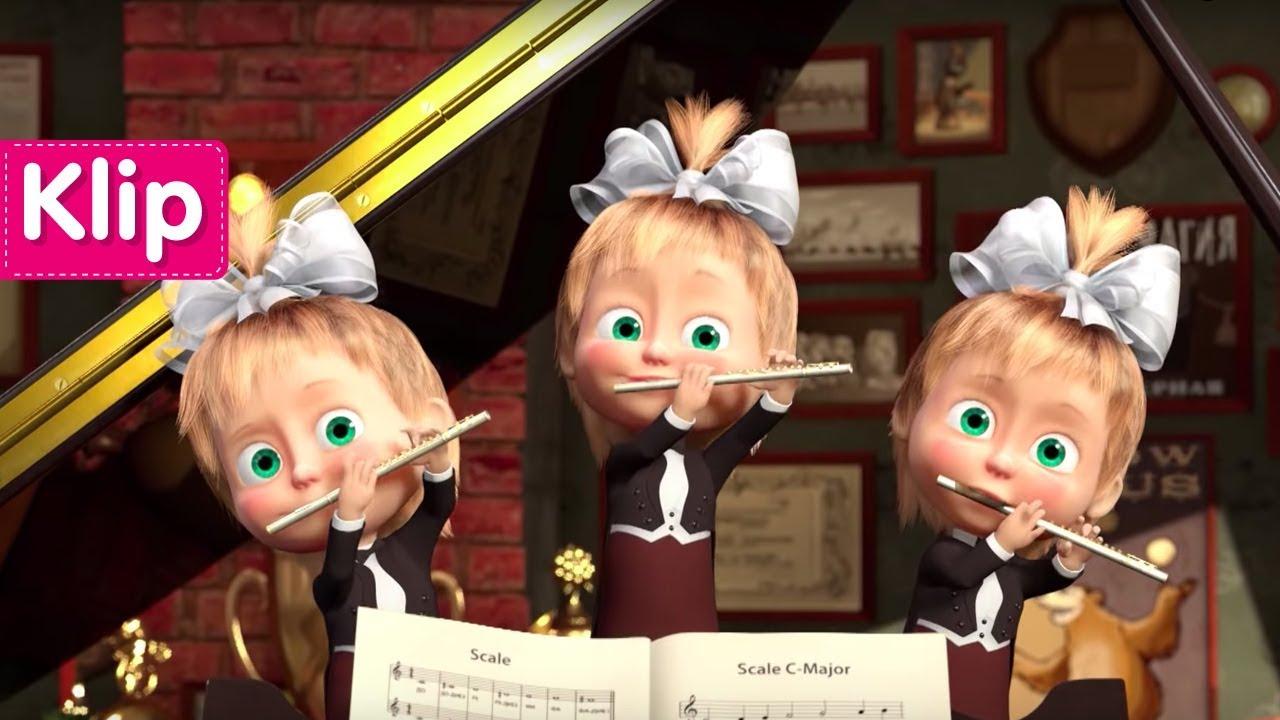 Maşa İle Koca Ayı - Piyona Dersi (Maşa'nın orkestrası)