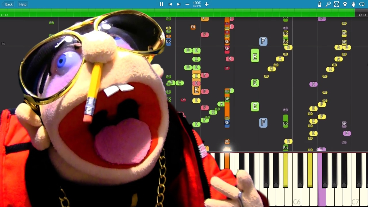 Download Jeffy - Why - Instrumental Remix - Piano Cover - Jeffy The Rapper SML