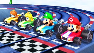 Mario Party The Top 100 - All Racing Minigames