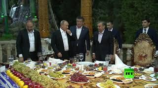 شاهد.. إمام على رحمن يستقبل بوتين وقادة رابطة الدول المستقلة