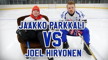 HOCKEY CHALLENGE: JOEL HIRVONEN VS JAAKKO PARKKALI