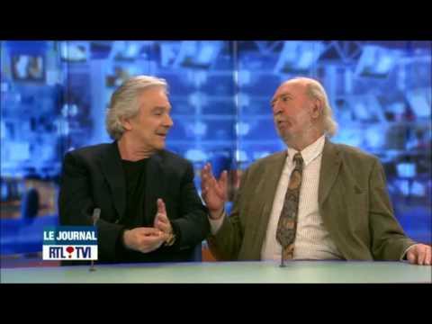 Interview Pierre Arditi et Jean-Pierre Marielle - La Fleur de l'Age / 15.04.13 RTL JT 13h