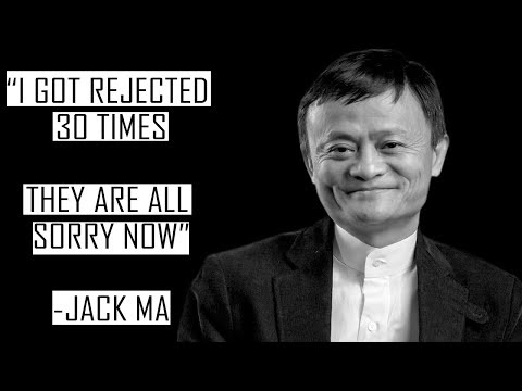 Rejection - Jack Ma